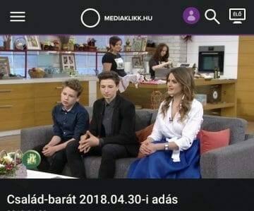 Skultéti-Szabó_Katalin_pszichologus_budapesten_DunaTV_Család_barát_kamaszok_2018-04-30_Sarjú_Banda