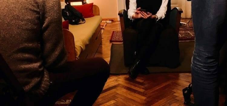 Interjú előtt